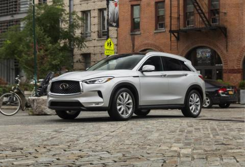 The 2019 QX50 delivered a 0-60 mph time of 6.4 seconds during testing by Motor Trend.