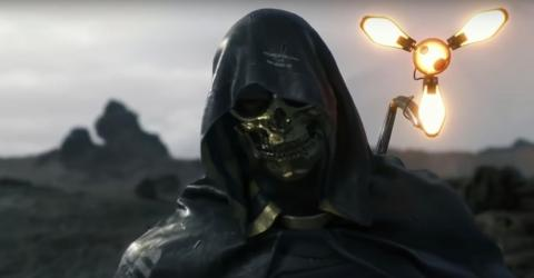 """""""Death Stranding"""" is an upcoming PlayStation-exclusive game that is expected to come to both PlayStation 4 and PlayStation 5."""