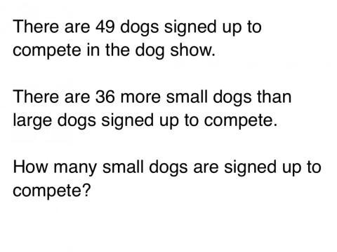 Los alumnos de segundo de primaria deberían ser capaces de resolver esto.