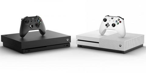 The Xbox One X (left) and Xbox One S (right) offer two different price points and horsepower options for prospective buyers.
