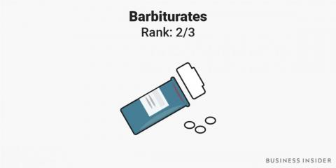 4. Barbiturates are sedative drugs that were once widely prescribed for anxiety.