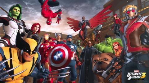 "4. ""Marvel: Ultimate Alliance 3: The Black Order"" (Nintendo)"