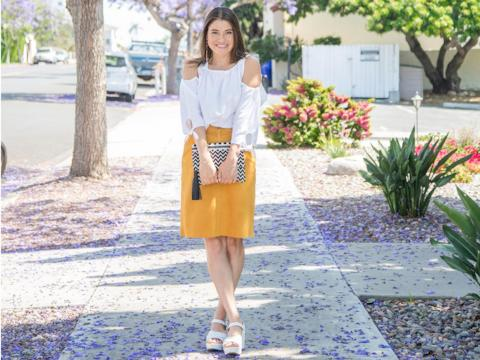 9. Vanessa Valiente, 36, fashion and travel blogger: $18,000 a year