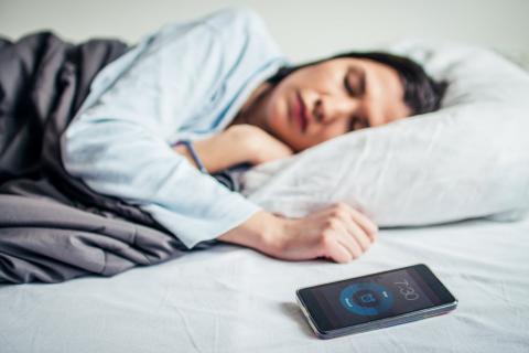 Alarma del móvil como despertador