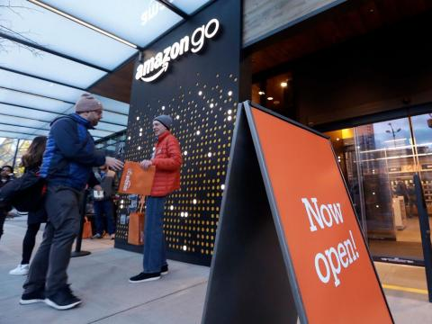 Amazon está creando la tienda del futuro.