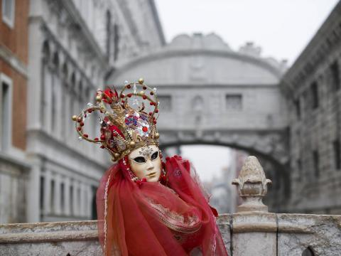 ... and the springtime Carnival of Venice.
