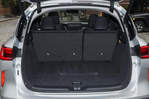 ... And you'll find an impressive 31.4 cubic feet of cargo space. Fold down the seats and that figure goes up to a voluminous 65.1 cubic feet.