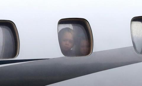 … and your older brother gets the better view from the window seat.