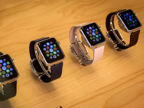 There are now many versions of the watch.