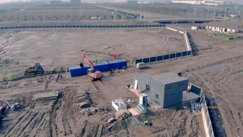 APRIL: We should have a good sense of what's going on with Tesla new factory in Shanghai, China.