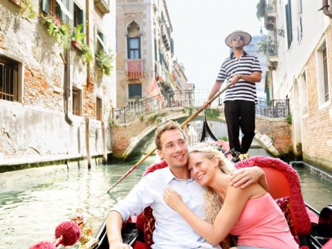 An arguably overrated aspect of Venice is the gondola ride, which is seen as a quintessential romantic experience.