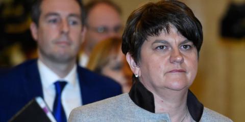 Arlene Foster, líder del Partido Unionista [RE]