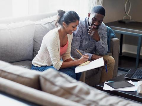 Avoiding the subject of money with your significant other