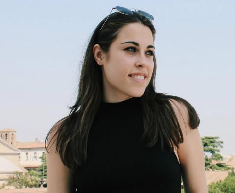 Beatriz Santos, estudiante de ingeniería de servicios en la Universidad Rey Juan Carlos