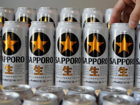 La cerveza es una parte integral de la cultura japonesa y Sapporo es la más antigua del país.
