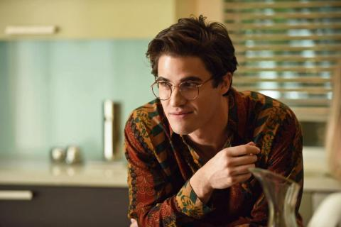 Darren Criss as the serial killer Andrew Cunanan.