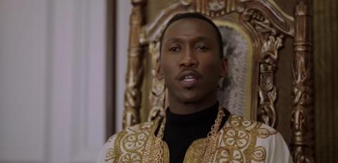 "Mahershala Ali in ""Green Book."""