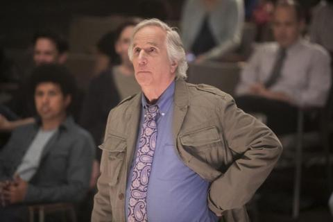Winkler plays an acting teacher on the HBO comedy.