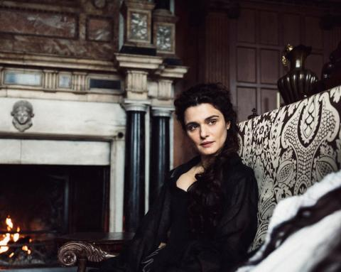 "Rachel Weisz in ""The Favourite."""