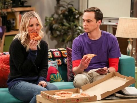 Kaley Cuoco and Jim Parson star on the series.
