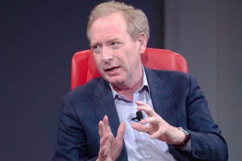 Brad Smith, presidente y jefe de legal de Microsoft. [RE]