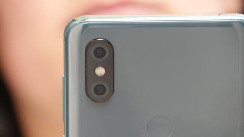 La cámara del Xiaomi Mi MIX 3.