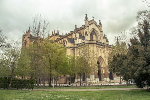 Catedral Nueva en Vitoria (Álava)