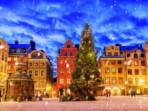 Christmas Eve in Sweden is also the main day Christmas is celebrated.