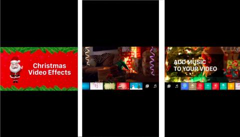 Christmas Video Effect App