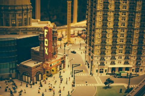 Una ciudad Lego