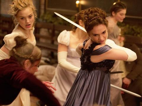 """""""Pride and Prejudice and Zombies"""" became a movie in 2016."""
