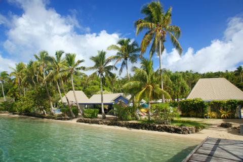 Un complejo de vacaciones en Fiji