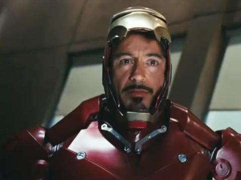 """Iron Man"" premiered in 2008."
