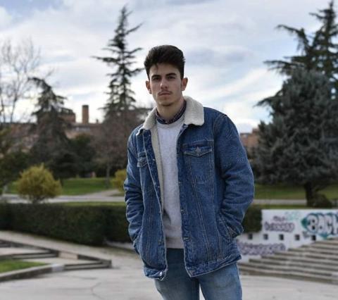 Diego Navarro, estudiante de cuarto de marketing en la Universidad Rey Juan Carlos