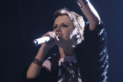Dolores O'Riordan, en un concierto en Barcelona.