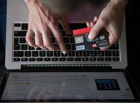 Don't let shopping sites save your credit card information.