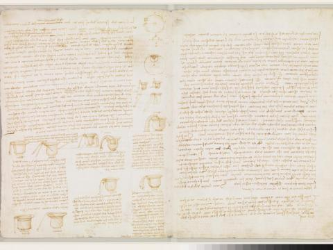 El Codex Leicester.