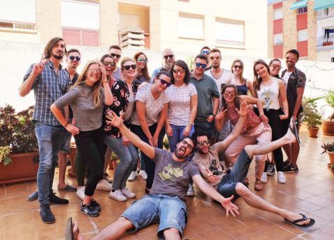 El equipo de Erasmusu.