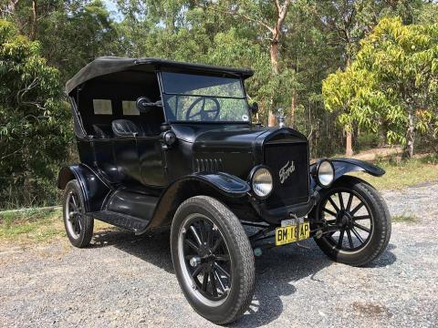 Un Ford Model T de 1925.
