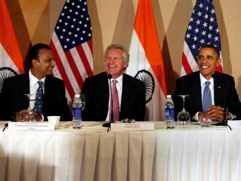 ... el ex Presidente de Estados Unidos, Barack Obama ...