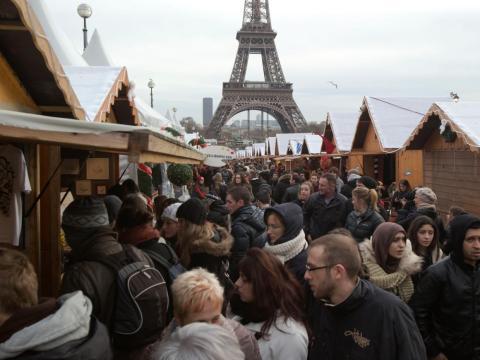 Los mercadillos navideños son muy populares a lo largo y ancho de Francia