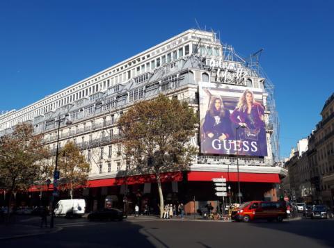 [Re] Galeries Lafayette Haussmann en Paris, el 4 octobre 2018.