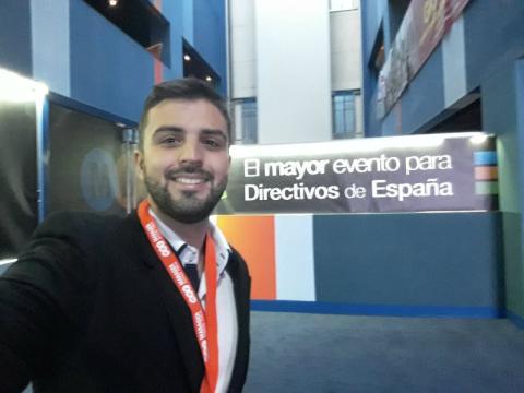 Francisco José Báez, estudiante de ADE en la Universidad Rey Juan Carlos