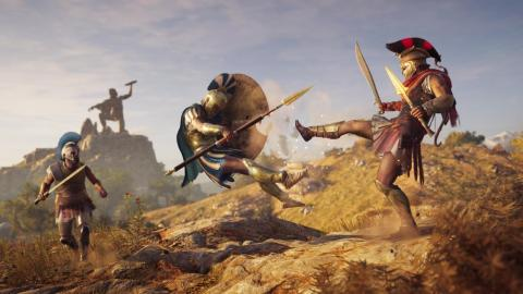 Google usó gráficos de alta calidad en Assassin's Creed Odyssey para probar en fase beta su servicio de Project Stream. [RE]