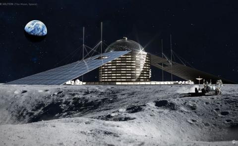 Hotel Lunar, Hilton