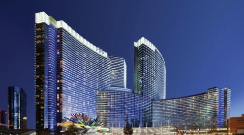 El hotel de Las Vegas Aria Resort & Casino.