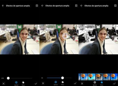 Huawei P Smart 2019 modo retrato