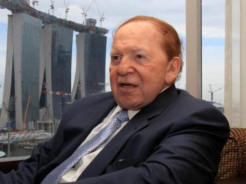 """I never thought about becoming wealthy. It never crossed my mind. What really motivated me was to try to accomplish something."" — Sheldon Adelson, chairman and CEO of Las Vegas Sands Corporation"
