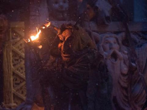"A Yule Lad as he appears in the 2015 movie, ""Krampus."""