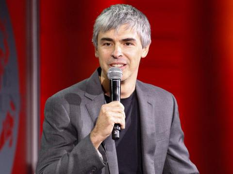 """If we were motivated by money, we would have sold the company a long time ago and ended up on a beach."" — Larry Page, Google cofounder and CEO of Alphabet Inc."